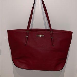 Nine West Red Tote Bag